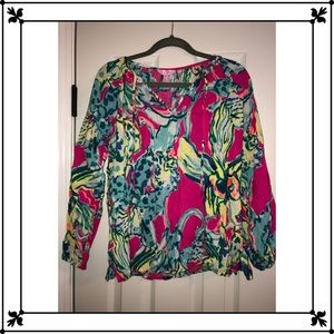 Lilly Pulitzer Long Sleeve Top- NWT